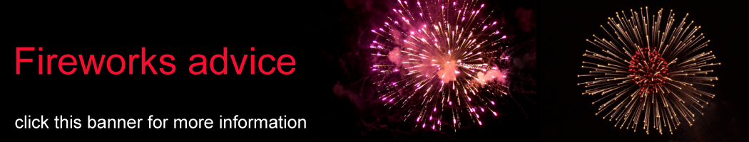 Fireworks advice - click this banner for more information
