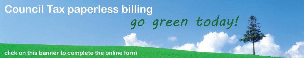 Council tax paperless billing