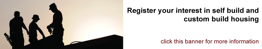 Self Build and Custom Build Register - click this banner for more information