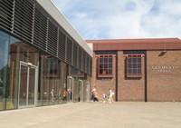 The outside of Clements Hall Leisure Centre